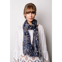 Briarwood Long Sally wool scarf