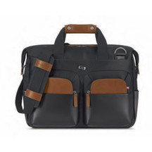 Solo Slim Briefcase 15.6""