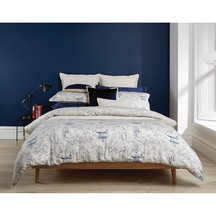 Christy Japanese Maple Linen Duvet Set