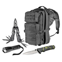 Kilimanjaro/Powerbuilt Day Hike Pack 4Pc Combo