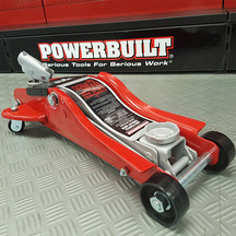 Powerbuilt 2.2Ton / 2000Kg Trolley Jack Low Profile