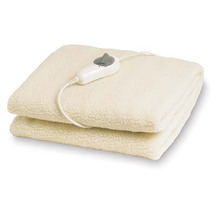 Goldair Fleecy Topper Fitted Electric Blanket - King Single