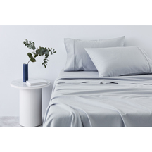 Sheridan Plain Dye Flannelette Sheet Set- Sleet
