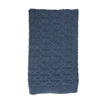 Babu Merino Cable Blanket