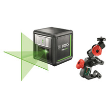 Bosch Quigo Green Beam Cross Line Laser with MM02 Mount