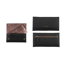 Saben Joe Leather Travel Wallet