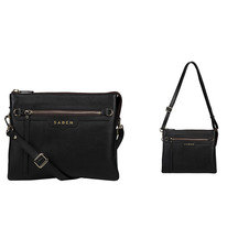 Saben Matilda Leather Crossbody Bag