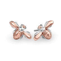 STERLING - Honey Bee Studs