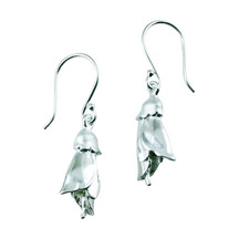 STERLING - Kowhai Flower Earrings