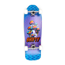 Shifty - Magic Eye Bowl Rider Complete Skateboard