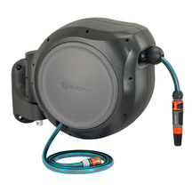 Gardena Retractable Hose Reel roll-up