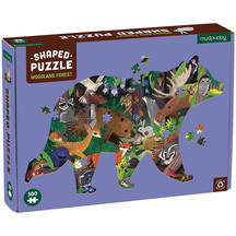 Woodland Forest 300pc Shaped Puzzle