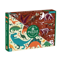 Dinosaur Dig 100pc Double-Sided  Puzzle