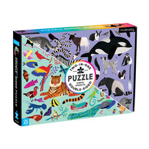 Animal Kingdom 100pc Double-Sided Puzzle