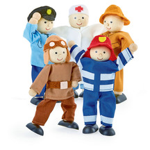 Pintoy Role play dolls set