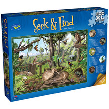 Seek & Find 300 XL Piece Jigsaw Puzzle The Forest