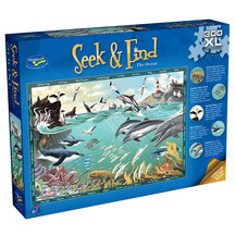 Seek & Find  300 XL Piece Jigsaw Puzzle The Ocean