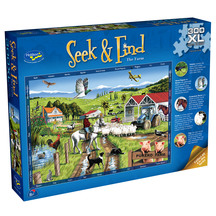 Seek & Find 300 XL Piece Jigsaw Puzzle The Farm