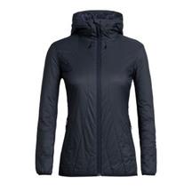 Icebreaker Women's Hyperia Lite Hybrid Hooded Jacket Midn...