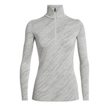 Icebreaker Women's 250 Vertex Long Sleeve Half Zip Snow S...