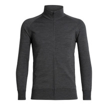 Icebreaker Men's Lydmar Long Sleeve Zip Jet Heather
