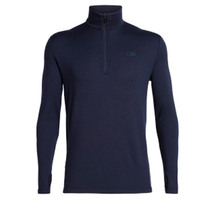 Icebreaker Men's Original Long Sleeve Half Zip Midnight Navy