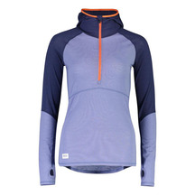 Mons Royale Wmns Bella Tech Hood - Blue Velvet