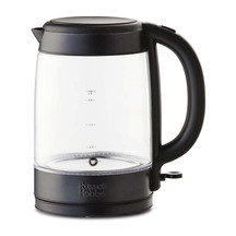 Russell Hobbs Brooklyn Black Glass Kettle