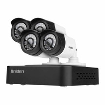 Uniden GDVR10440 DVR Full HD 1080P With 4 Weatherproof Ca...