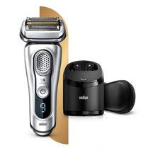 Braun Series 9 9390cc Wet & Dry Electric Shaver with Clea...