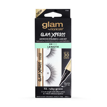 Glam By Manicare Xpress Kit Ruby-Grace Length