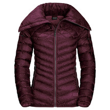 Jack Wolfskin Womens Richmond Hill Jacket - Burgundy