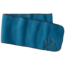 Jack Wolfskin Youth Baksmalla Fleece Scarf - Glacier Blue