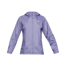 Under Armour Womens Forefront Rain Jacket - Purple Luxe/P...