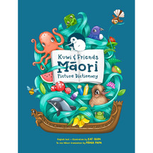 Kuwi & Friends Maori Picture Dictionary - Kat Quin