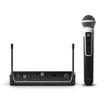 LD Systems Wireless Microphone System With Dynamic Handhe...
