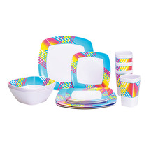 OZTRAIL Melamine Dinner Set 16pc