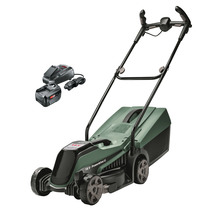Bosch Cordless 18V Lawn Mower with Charger & 4Ah Battery