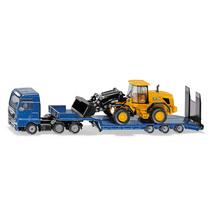 SIKU 1:87 MAN TGX XXL Truck with Low Loader & JCB 457 Whe...