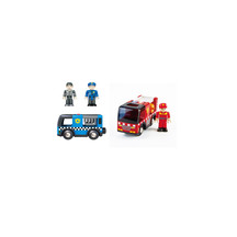 Hape Emergency Vehicles-Fire & Police