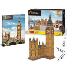 Cubic Fun National Geographic City Traveller -London Big Ben