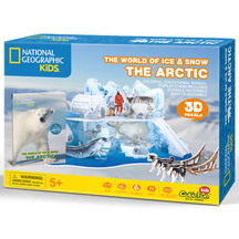 Cubic Fun National Geographic The World of Ice & Snow - T...