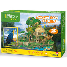 Cubic Fun National Geographic Amazon Rain Forest