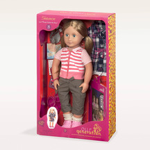 "OG 18"" Deluxe Poseable Doll w Book - Shannon"