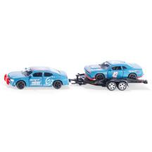 SIKU 1:55 Dodge Charger with Dodge Challenger SRT Racing