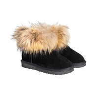 Kiwi Gear Emma - Black w. natural fur