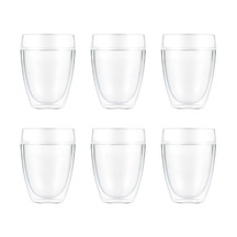 BODUM Pavina Outdoor 6 pcs Double Wall Tumbler, 0.35l, 12oz