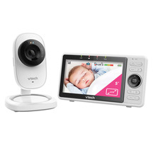 Vtech Safe And Sound Wi-Fi 1080P Hd Video Baby Monitor Wi...