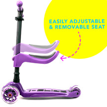 I-GLIDE 3 Wheeled Scooter with Seat