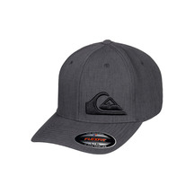 Quiksilver Final Flexfit Cap Charcoal Heather